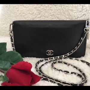 🖤CHANEL WALLET ON CHAIN ( converted) 🖤
